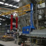 Bag Lifter retrofitted to existing plant